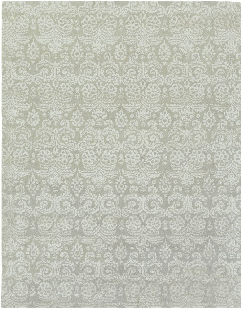 Calloway Moss/Gray Area Rug Rug Size: Rectangle 5' x 7'6