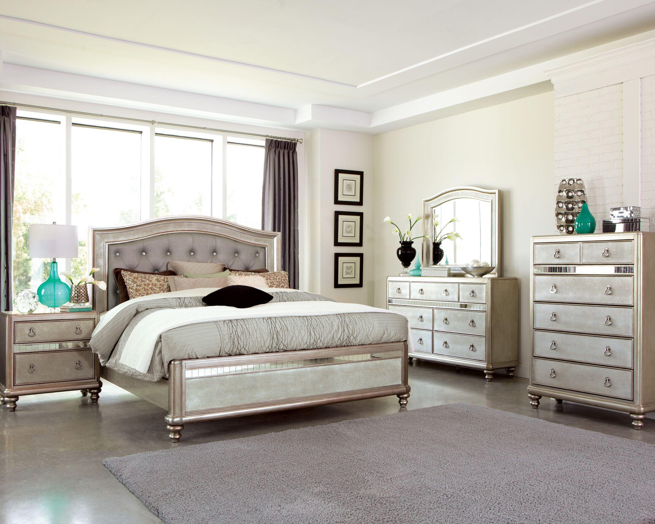 Annunziata Panel Configurable Bedroom Set