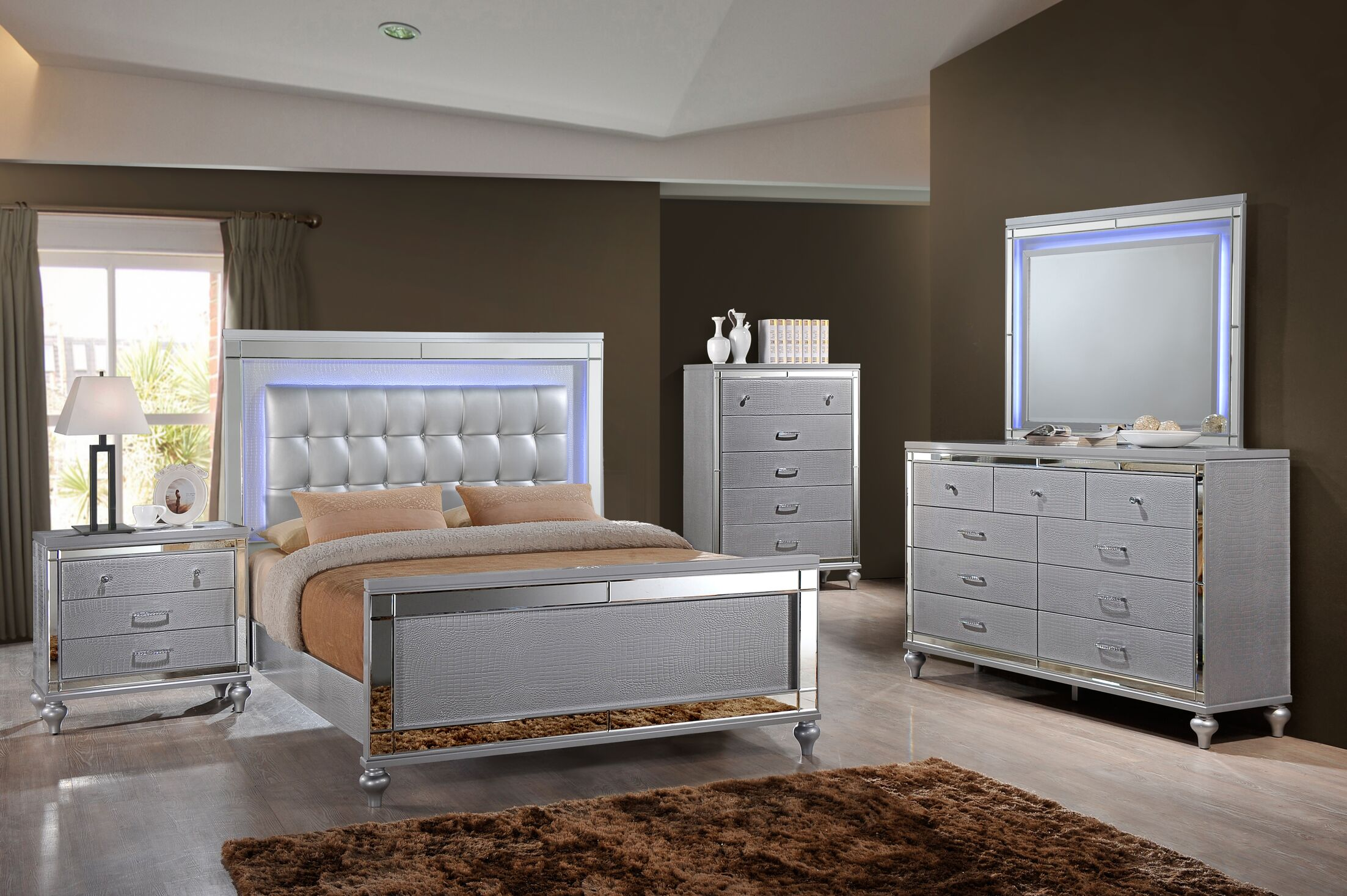Regents Platform Configurable Bedroom Set