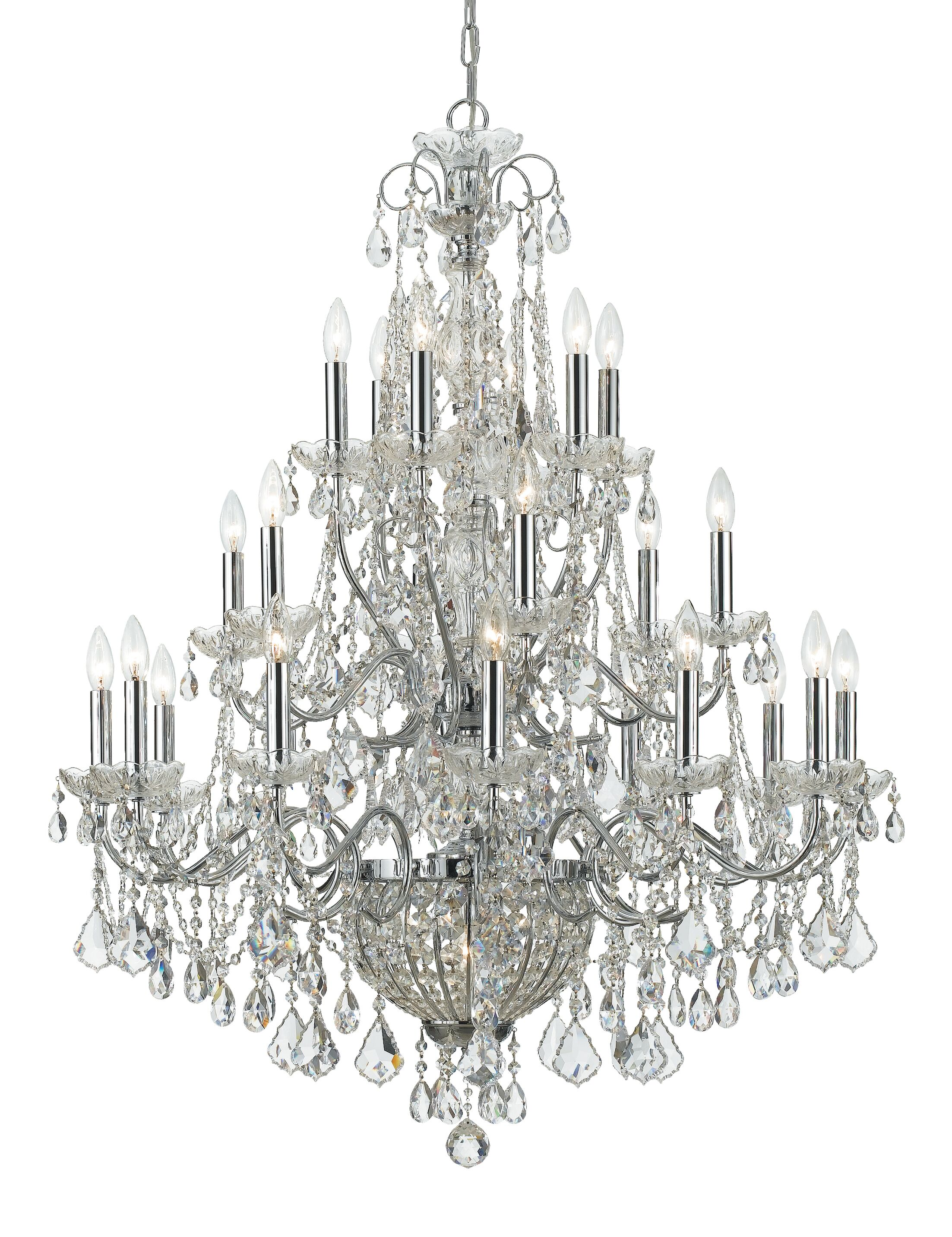 Axton 26-Light Candle Style Chandelier