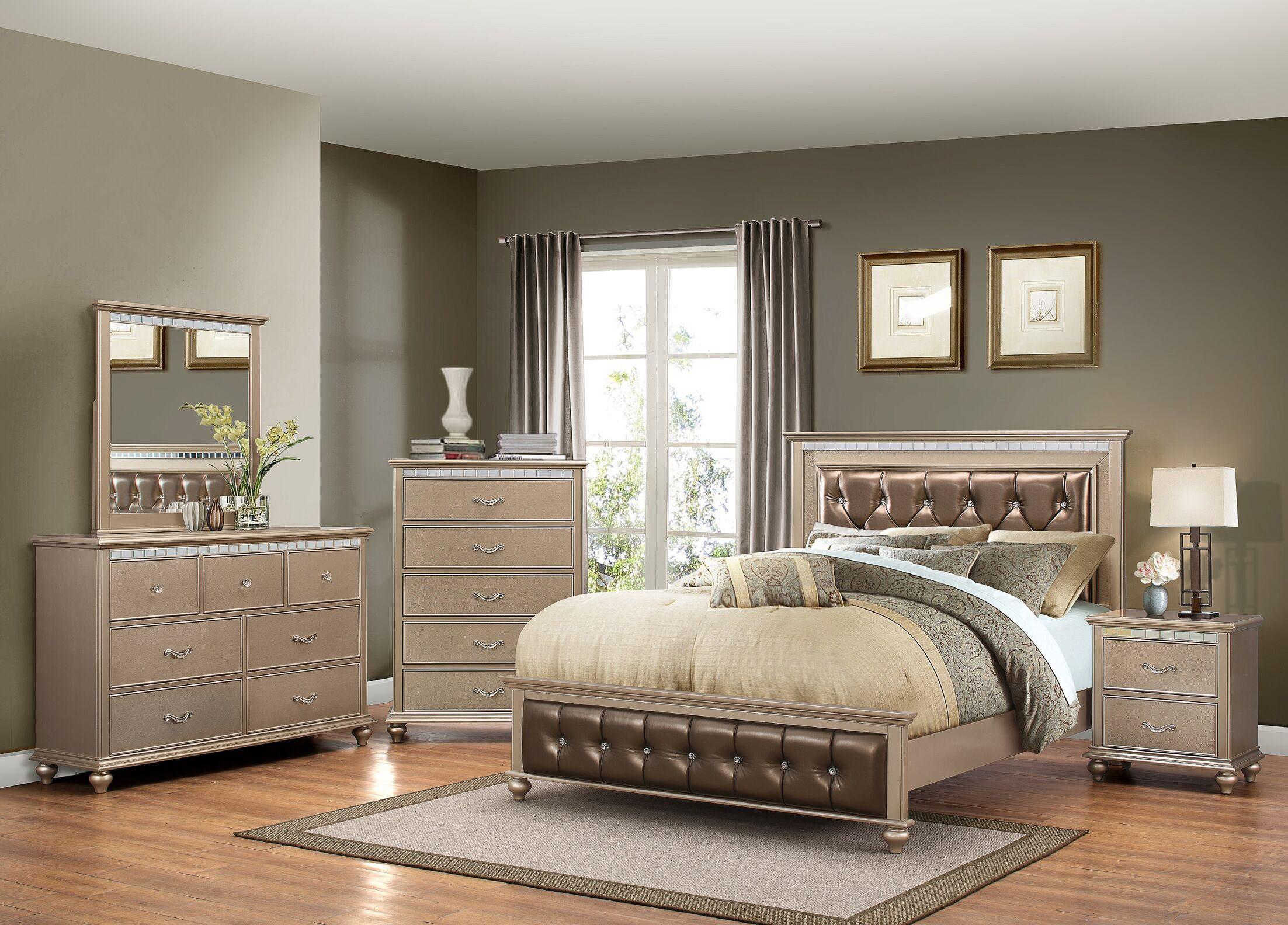 Almerton Platform Configurable Bedroom Set