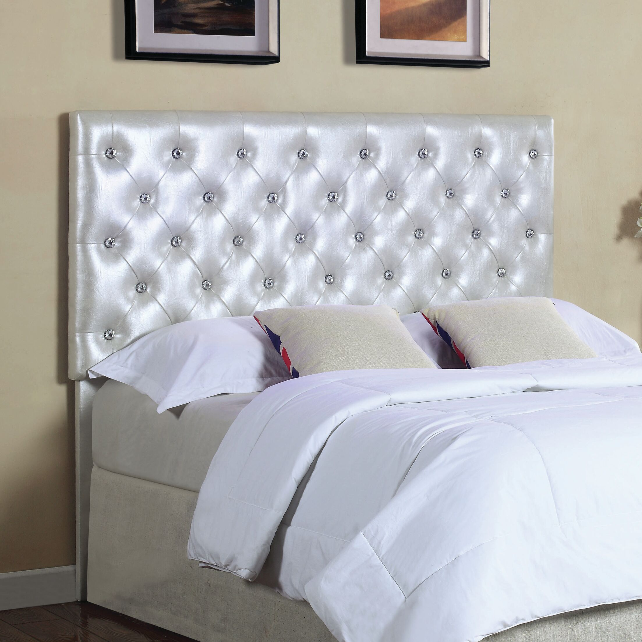 Donica Upholstered Panel Headboard Size: Twin