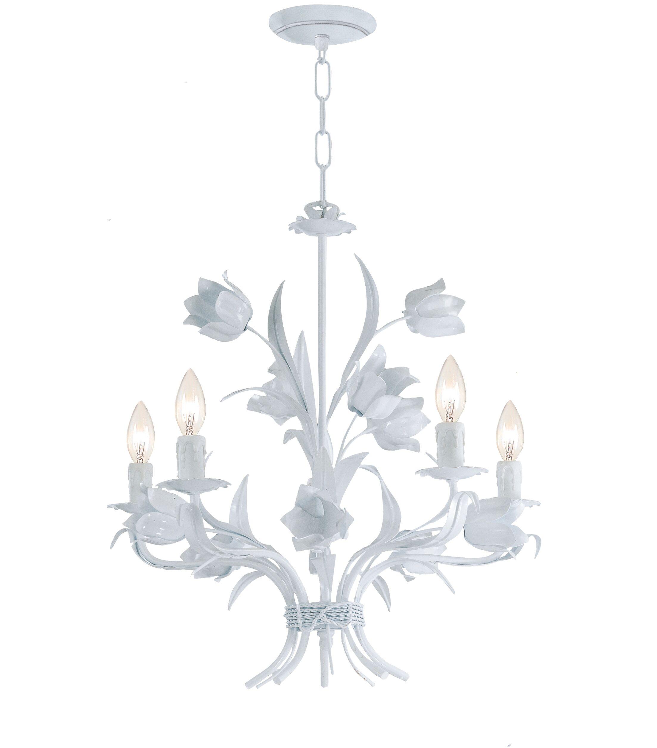 Destinie 4-Light Candle Style Chandelier