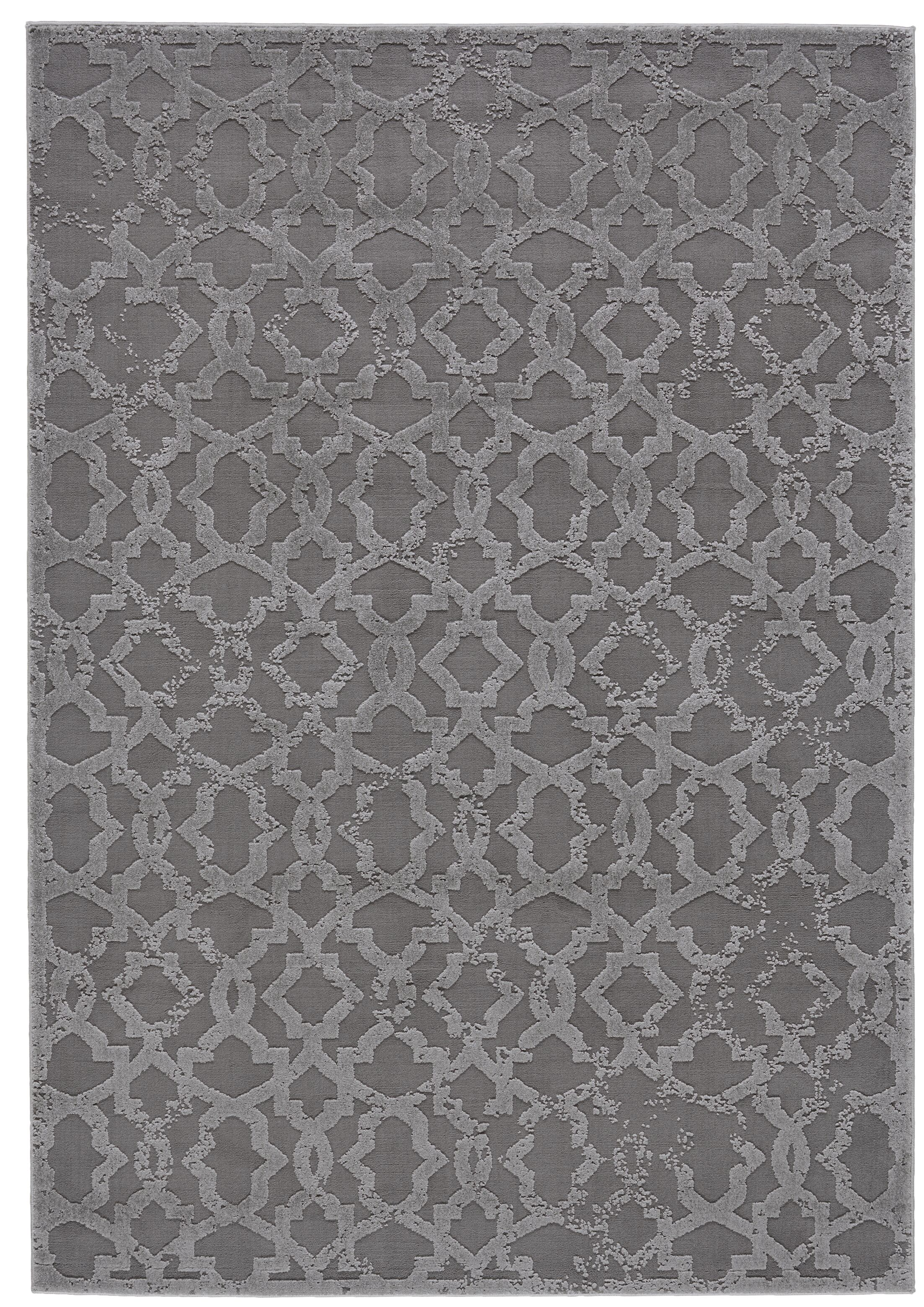 Chevalier Silver Area Rug Rug Size: Runner 2'1 x 7'1
