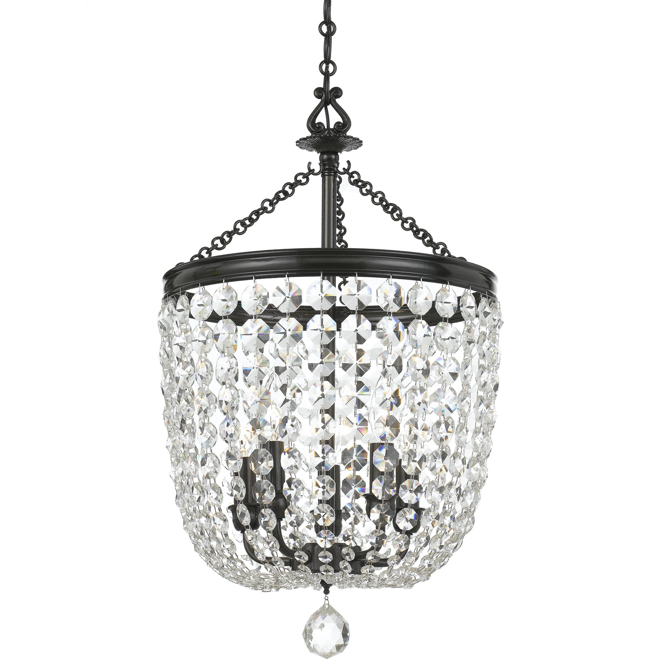 Sargent 5-Light Crystal Chandelier