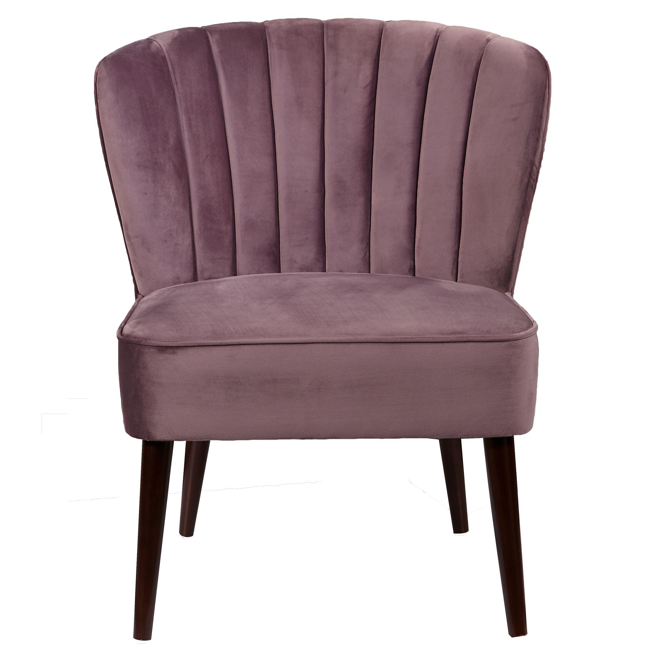 Alchiba Channeled Slipper Chair