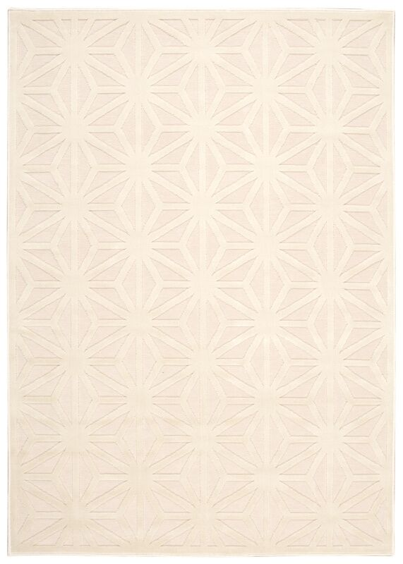 Stanhope Ivory Area Rug Rug Size: Rectangle 7'9