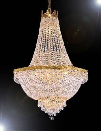 Dyann Crystal 9-Light Chandelier