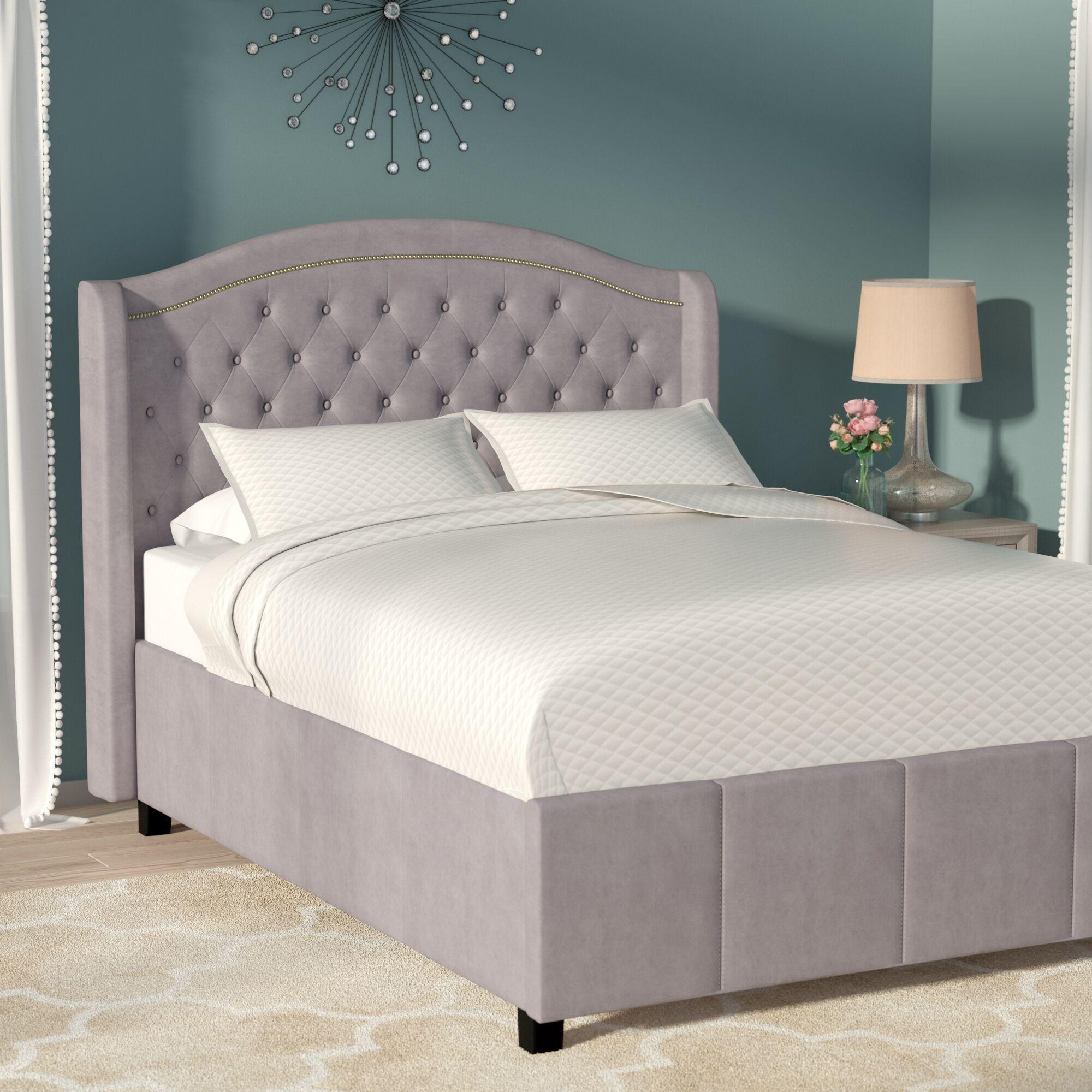 Adao Upholstered Platform Bed Size: Full