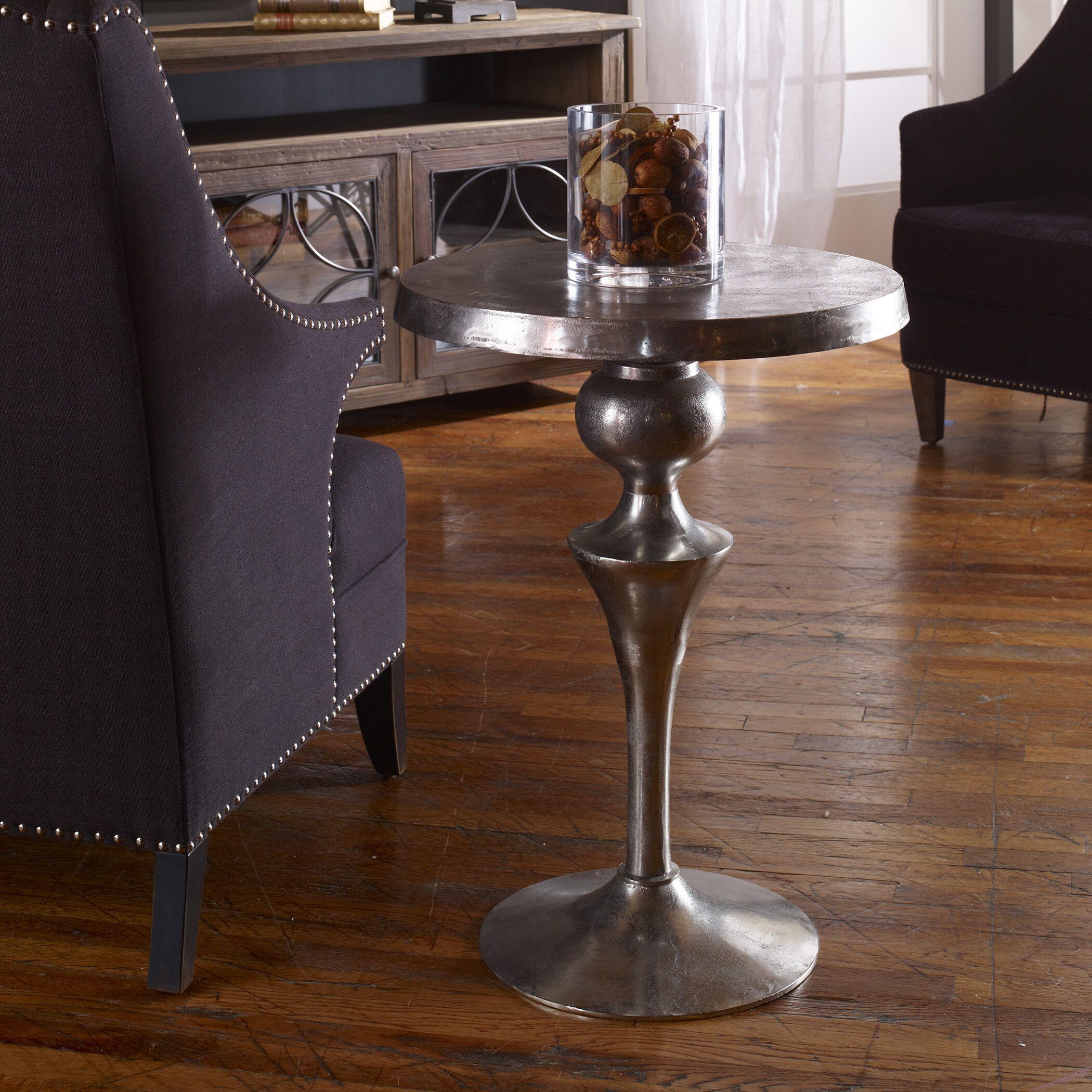 Darren Aluminum End Table