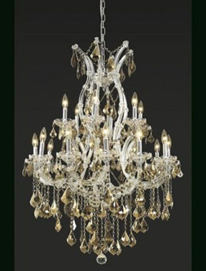 Regina 19-Light Royal Cut Candle Style Chandelier