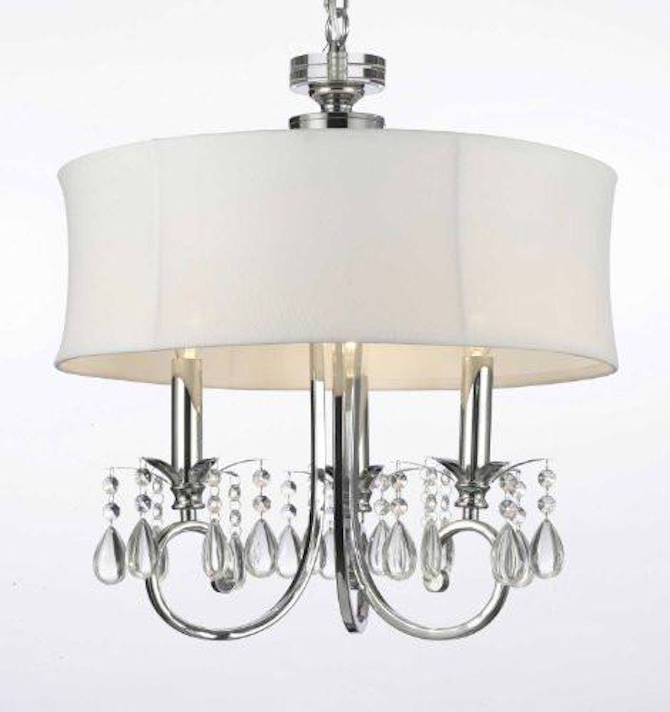 Justis 3-Light Drum Chandelier