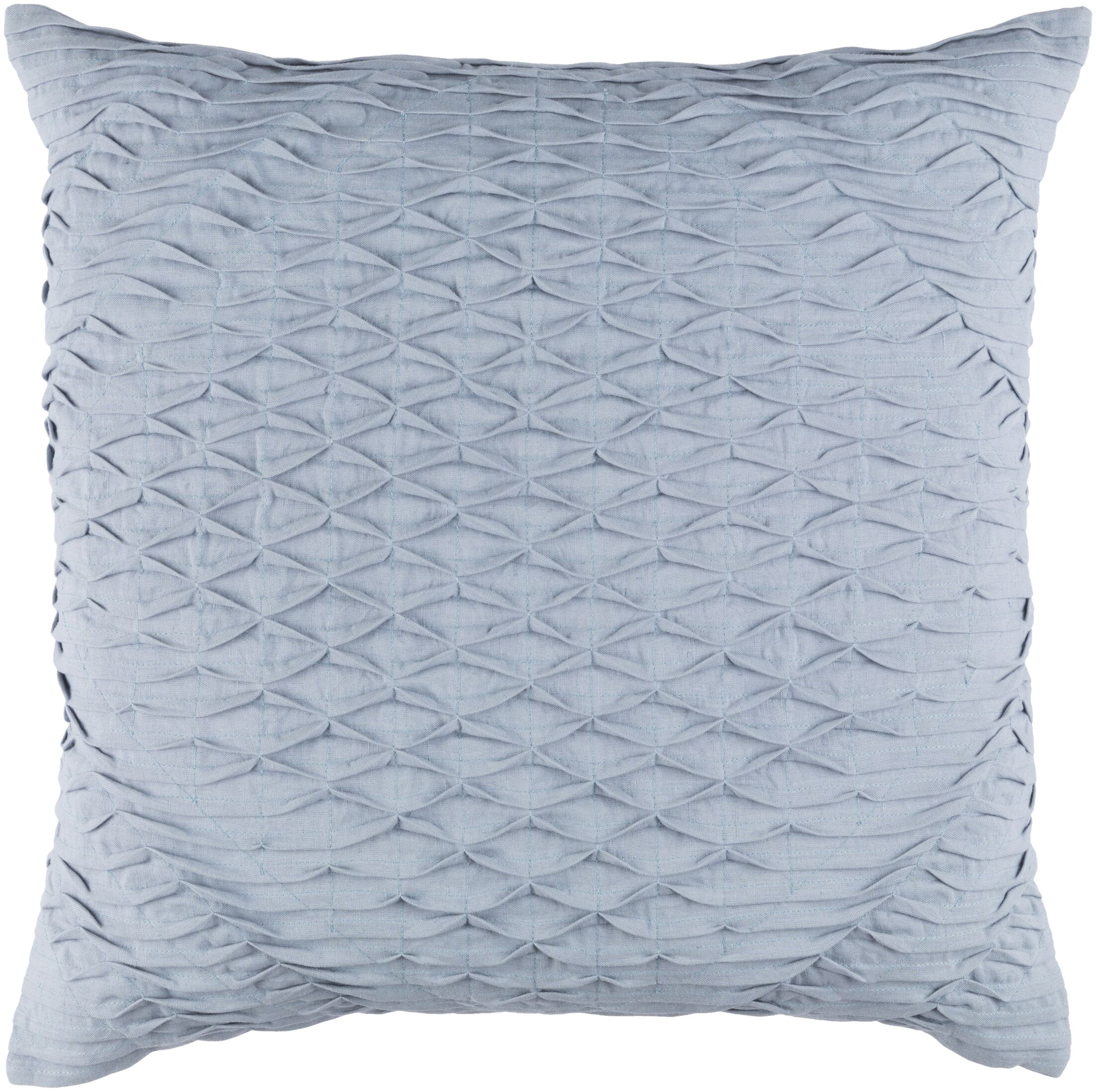 Vine Throw Pillow Color: Blue, Size: 20