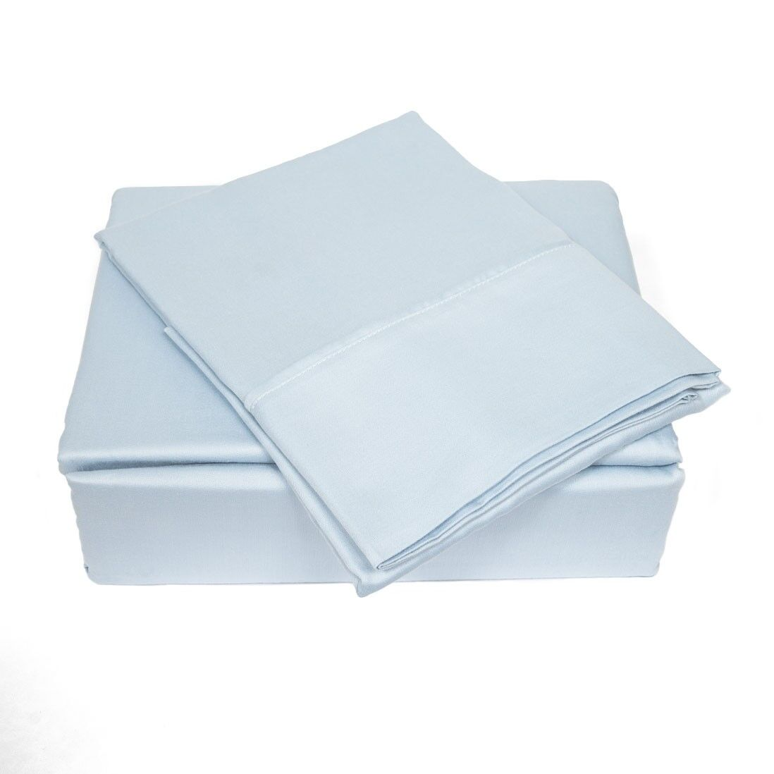 300 Thread Count Sheet Set Size: King, Color: Sky Blue