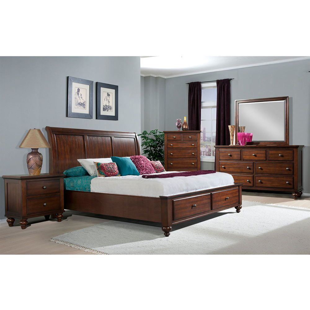 Whitcomb Panel 5 Piece Bedroom Set Size: King