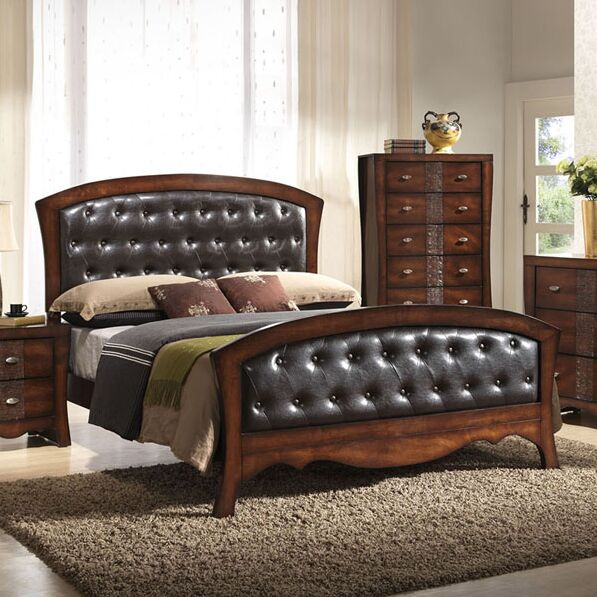 Pulido Upholstered Panel Bed Size: Queen