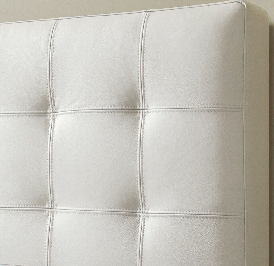 Estelle Upholstered Panel Headboard Size: Double, Upholstery: Linen