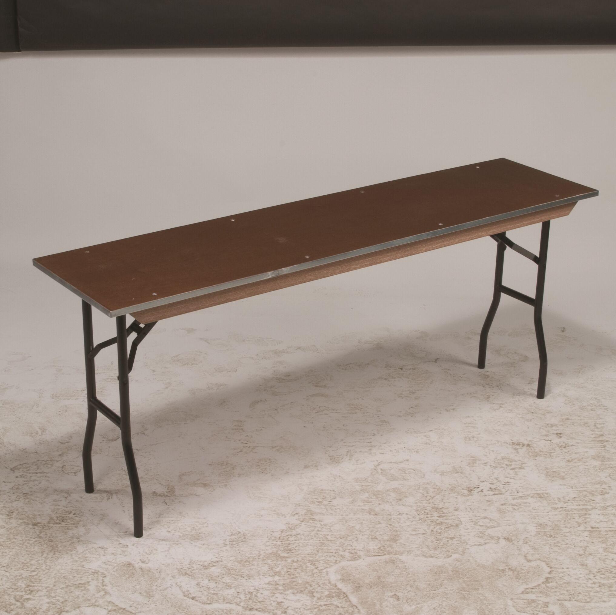 Rectangular Conference Table Base Finish: Black, Size: 30