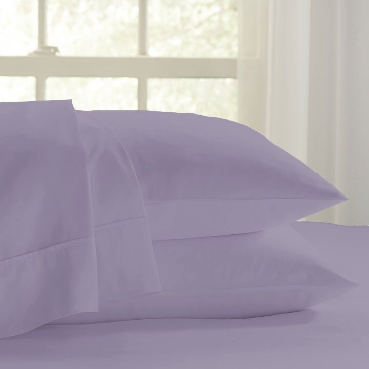 Eternal 120 GSM Luxury Sheet Set Color: Lavender, Size: King