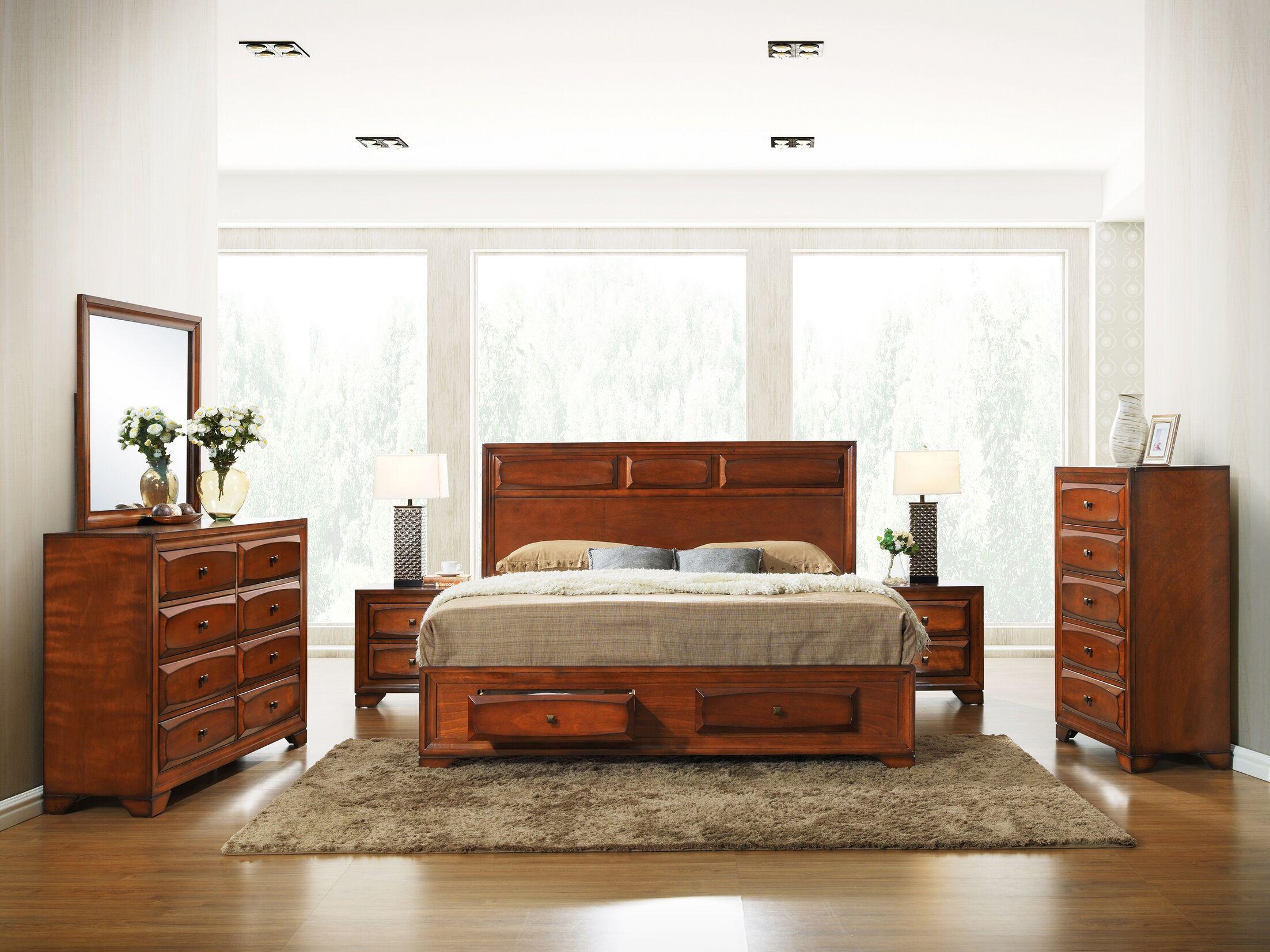 Beagan Platform Bedroom Set Size: Queen