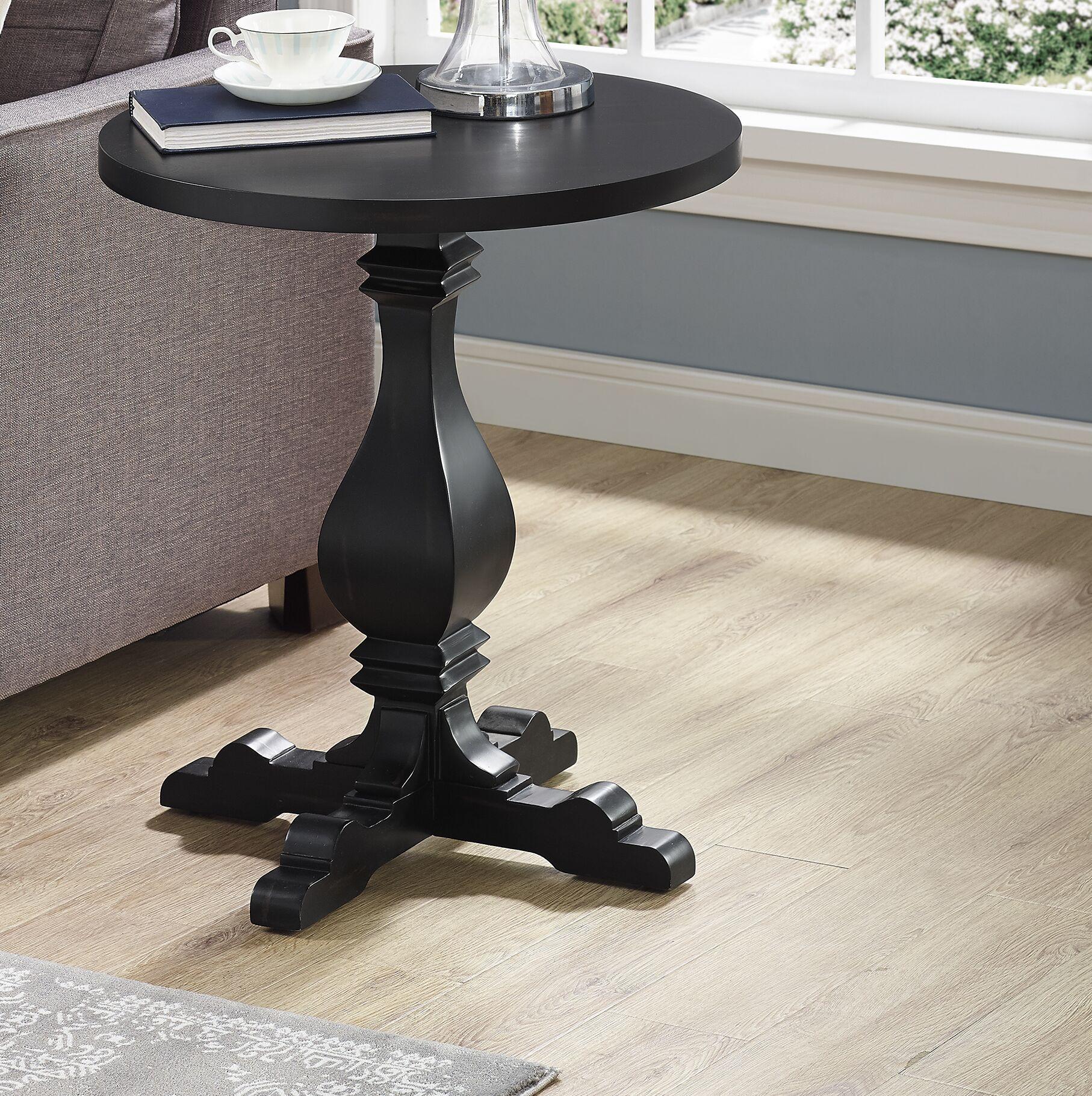 Wayland End Table Color: Black