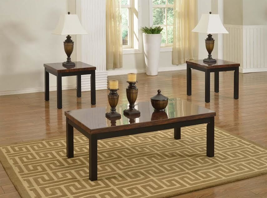 Strohl 8 Piece Coffee Table Set