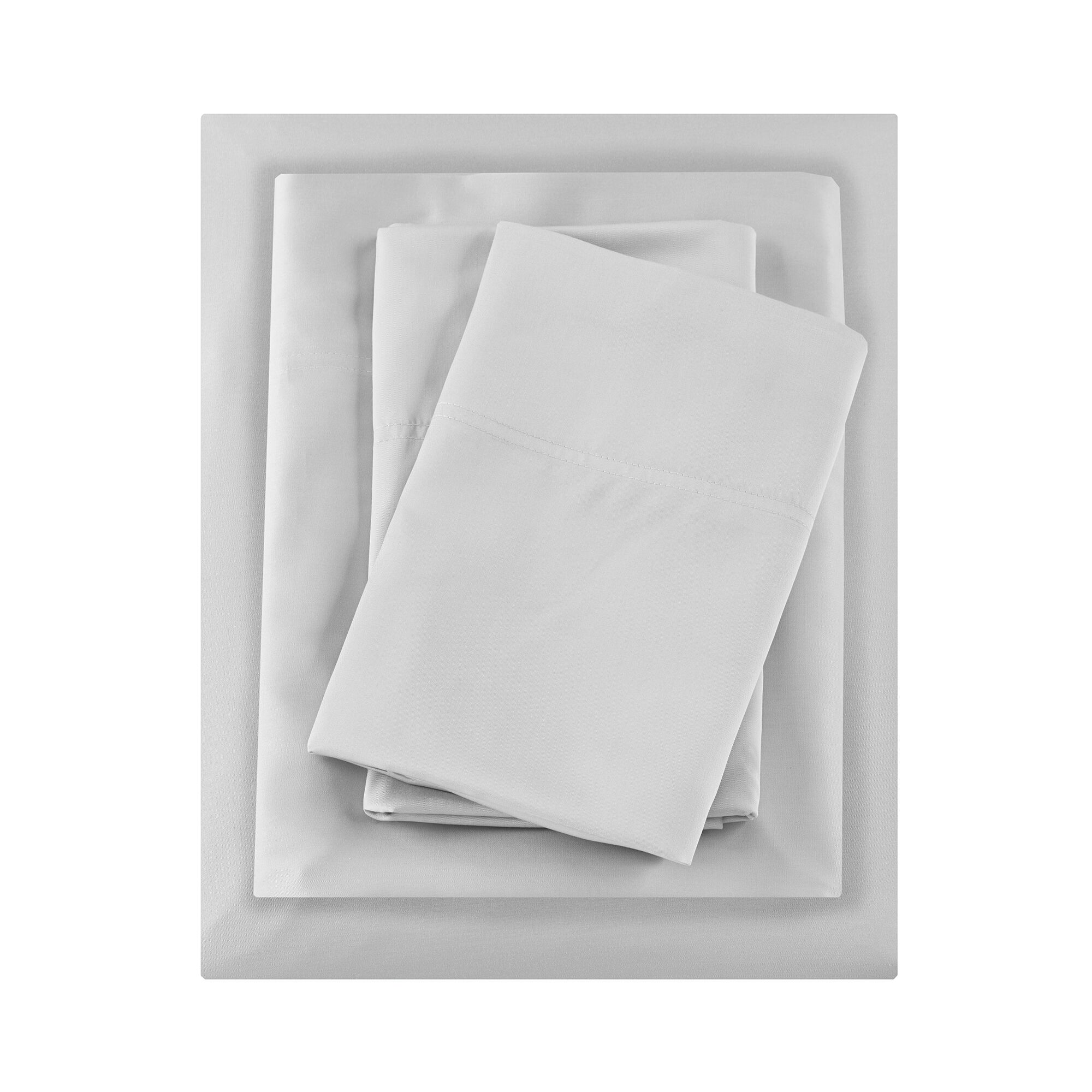 Raul Rayon from Bamboo 250 Thread Count Sheet Set Size: California King, Color: Gray