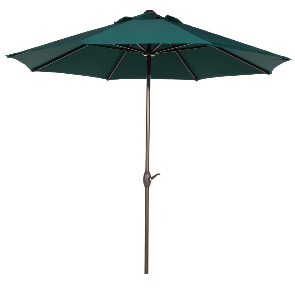 9' Market Umbrella Color: Dark Green