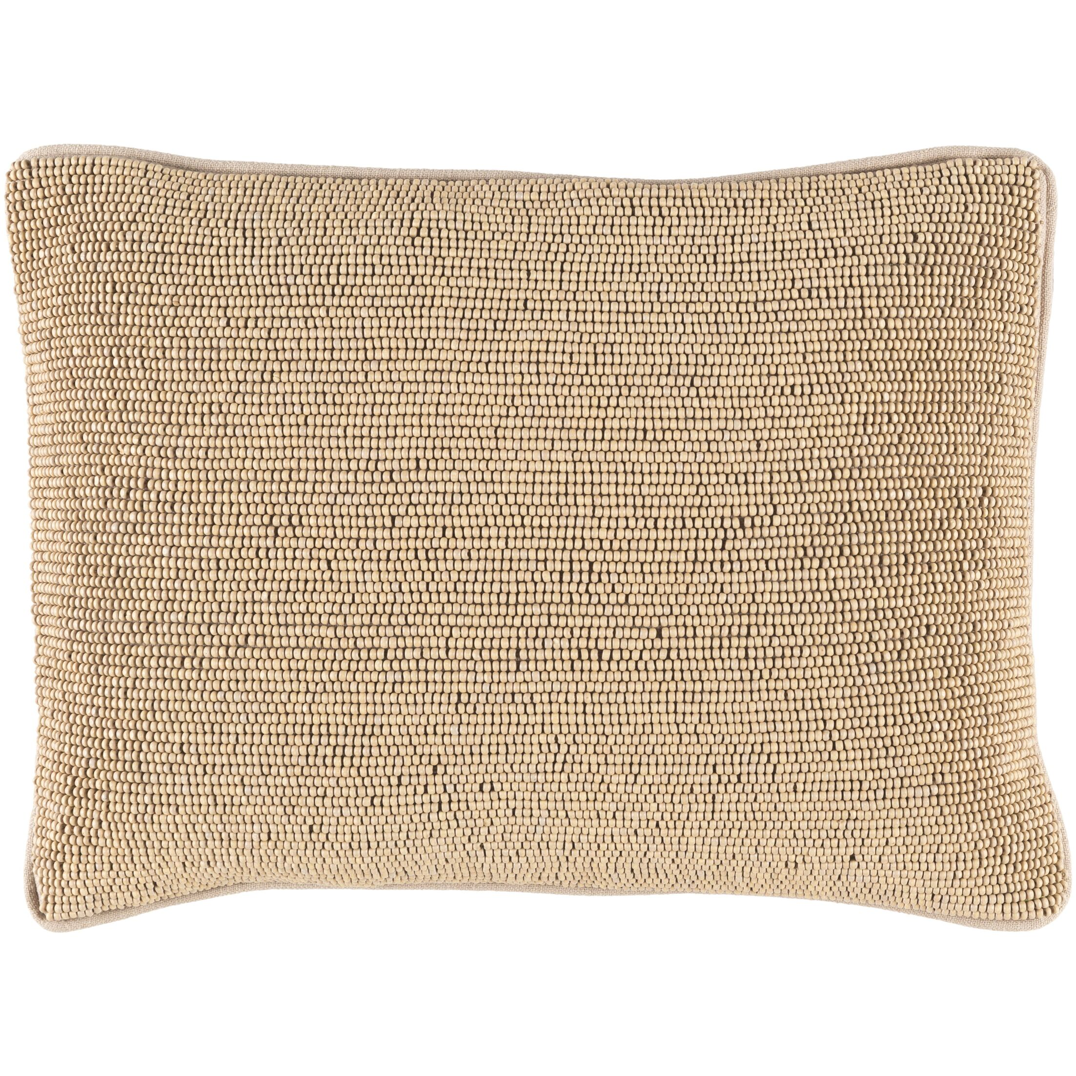 Grosvenor Down Lumbar Pillow Color: Beige/Taupe