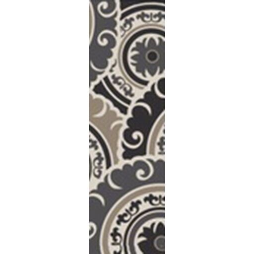 Ramgan Hand-Tufted Gray Area Rug Rug Size: Runner 2'6