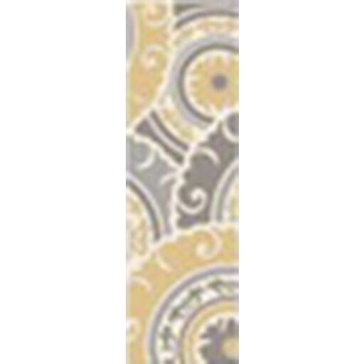 Tripolia Hand-Tufted Gold/Ivory Area Rug Rug Size: Runner 2'6