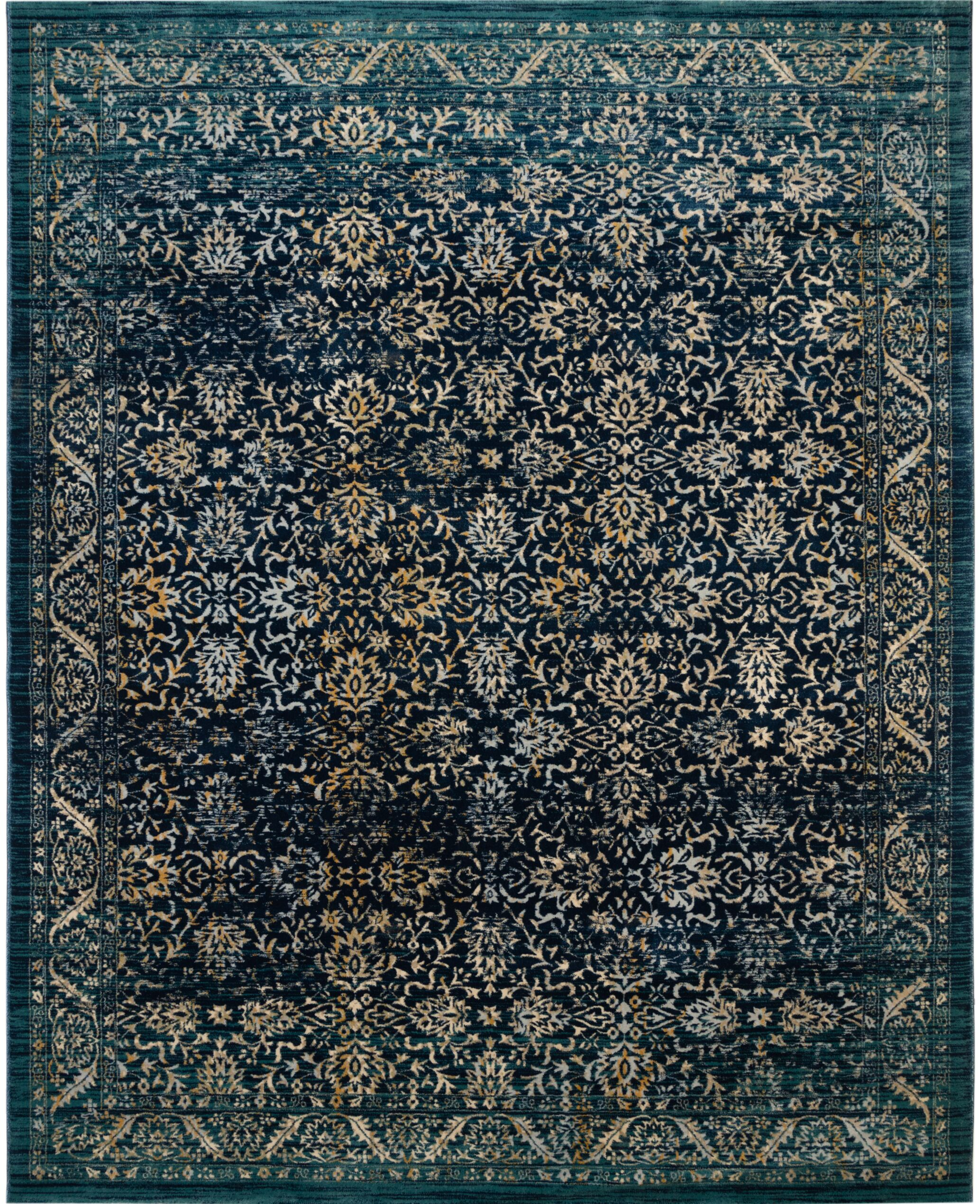 Elson Cream/Rust Area Rug Rug Size: 8'6