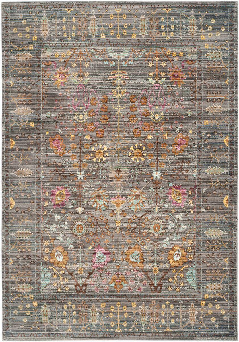 Bernardyn Gray/Multi Area Rug Rug Size: Rectangle 6' x 9'