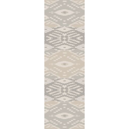 Evelyn Light Gray Area Rug Rug Size: Runner 2'6