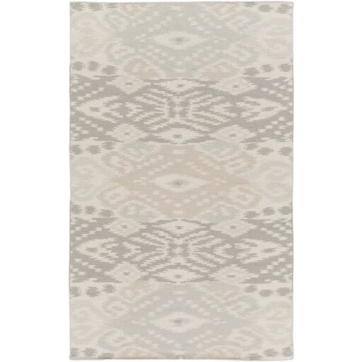 Evelyn Light Gray Area Rug Rug Size: Rectangle 5' x 8'