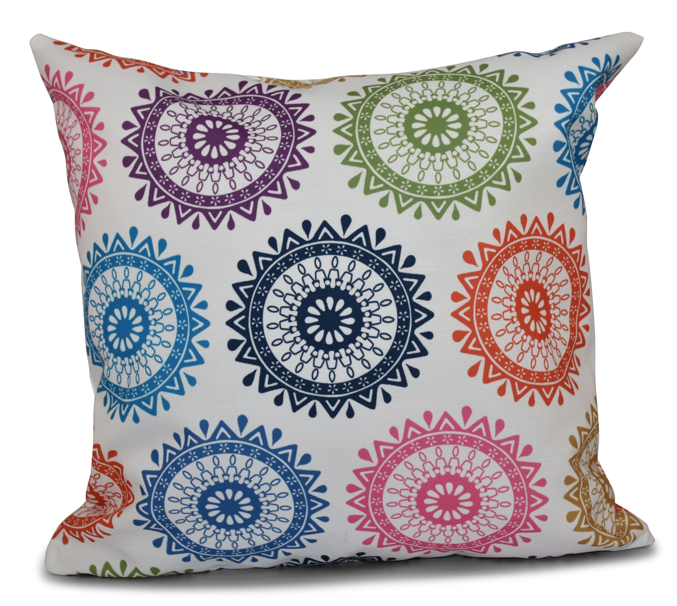 Meetinghouse Outdoor Throw Pillow Size: 18