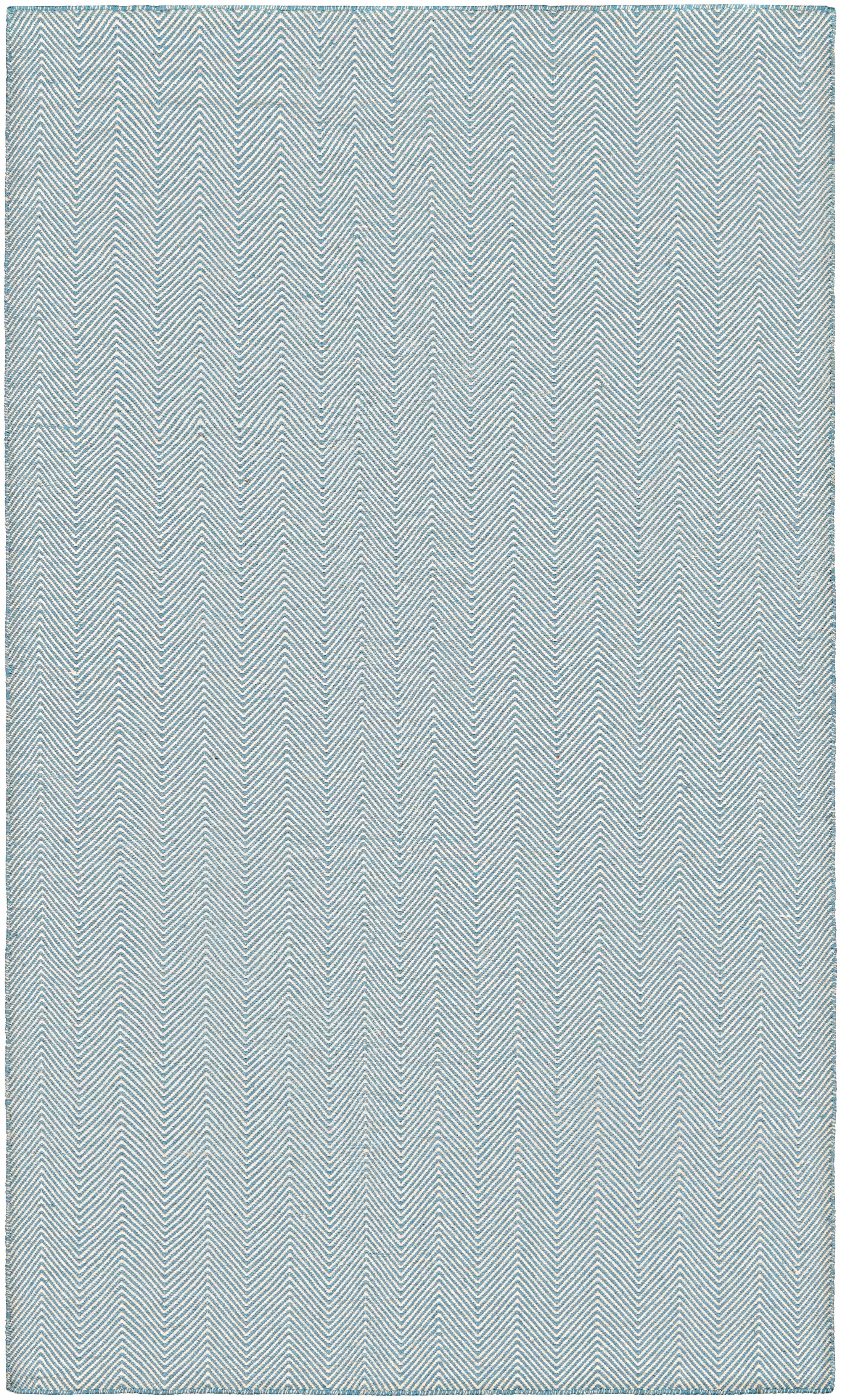 Alonso Hand-Woven Gray Chevron Indoor/Outdoor Area Rug Rug Size: Rectangle 8' x 10'