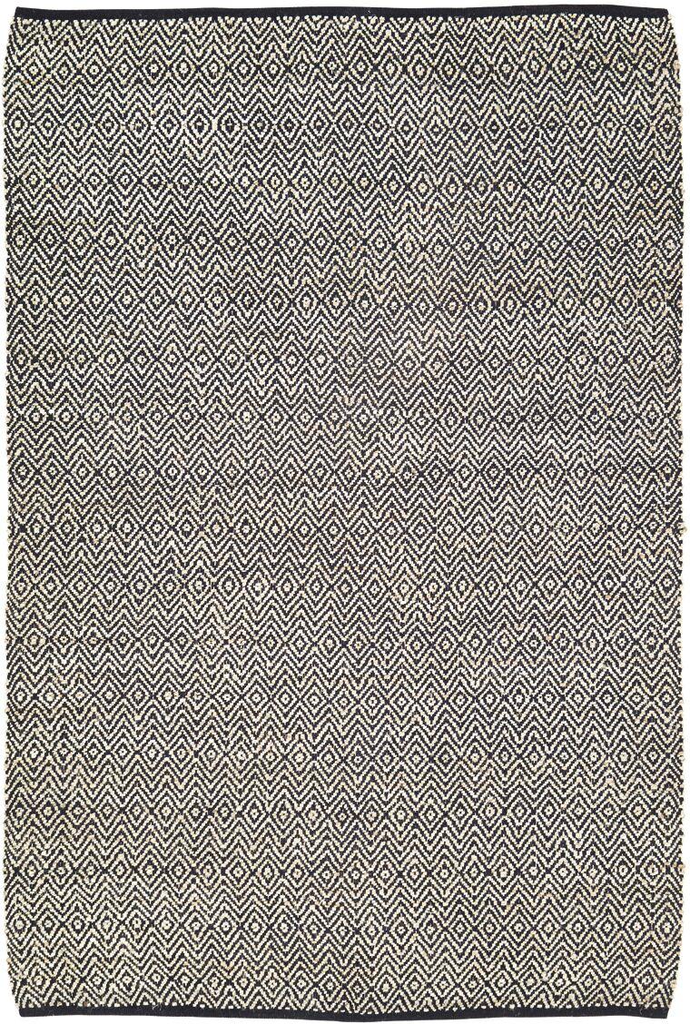 Lulie Black/Beige Area Rug Rug Size: 6' x 9'