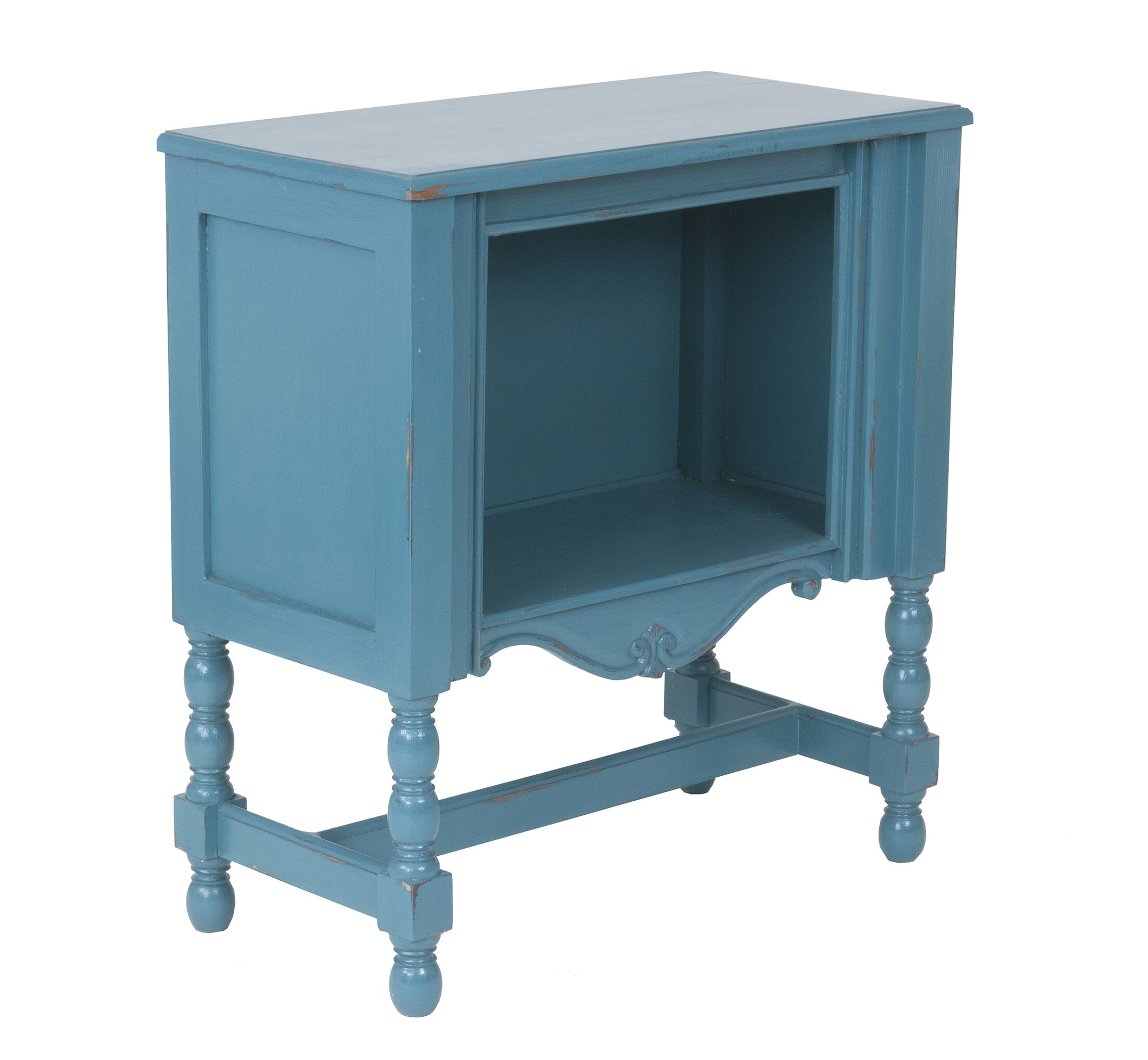 Booker End Table Color: Tosca Blue