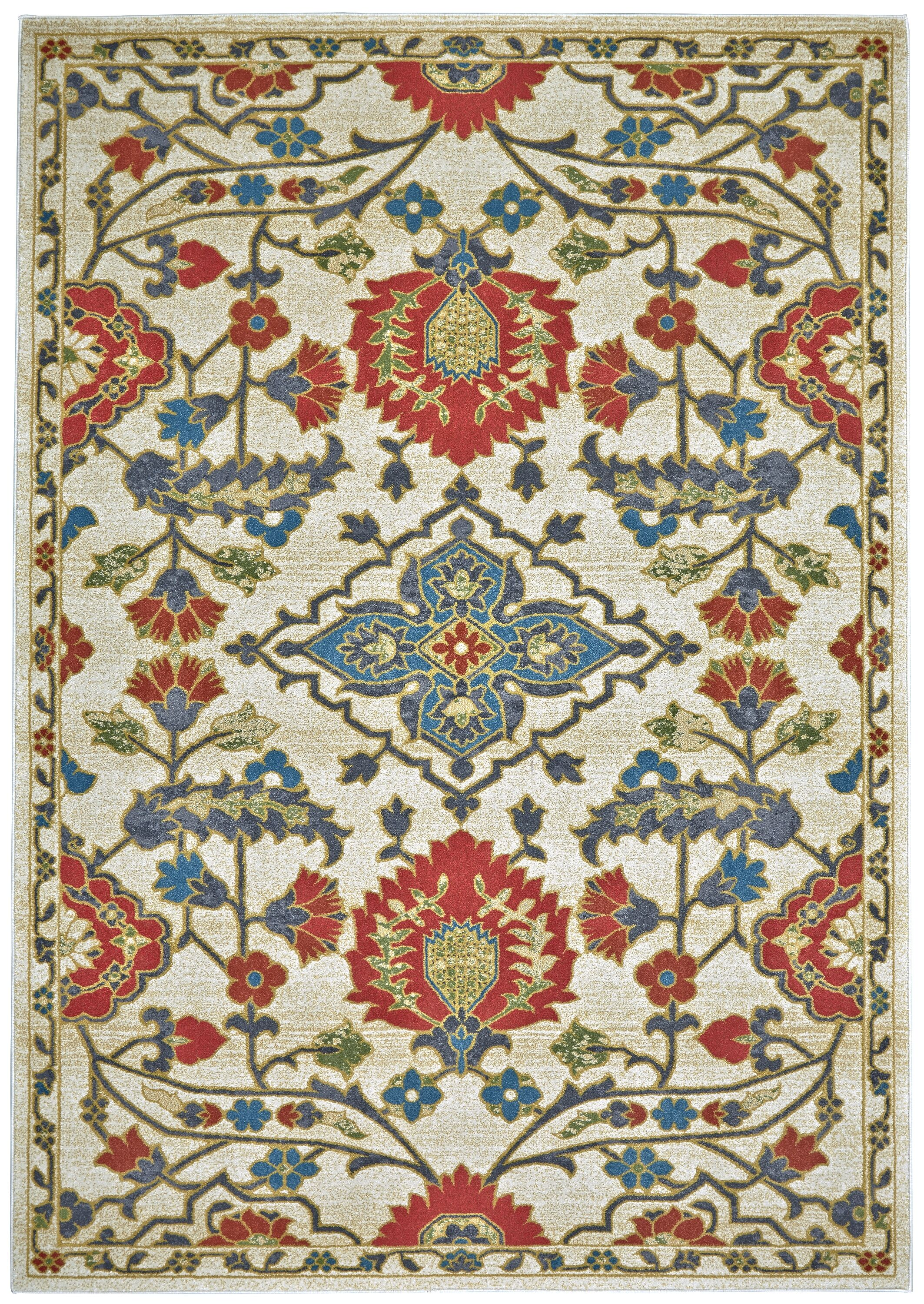 Yenene Red Area Rug Rug Size: Runner 2'1 x 7'1