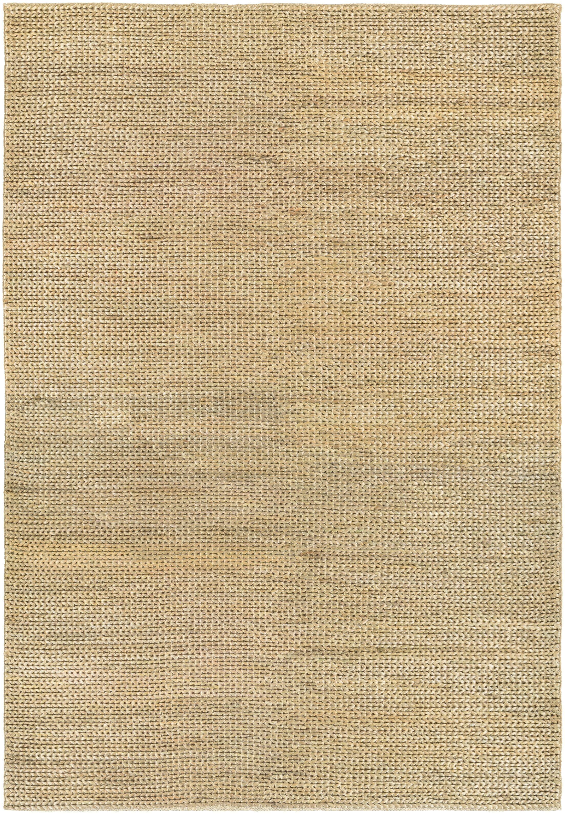 Uhlig Hand Woven Cotton Cream/Natural Area Rug Rug Size: Rectangle 3'5