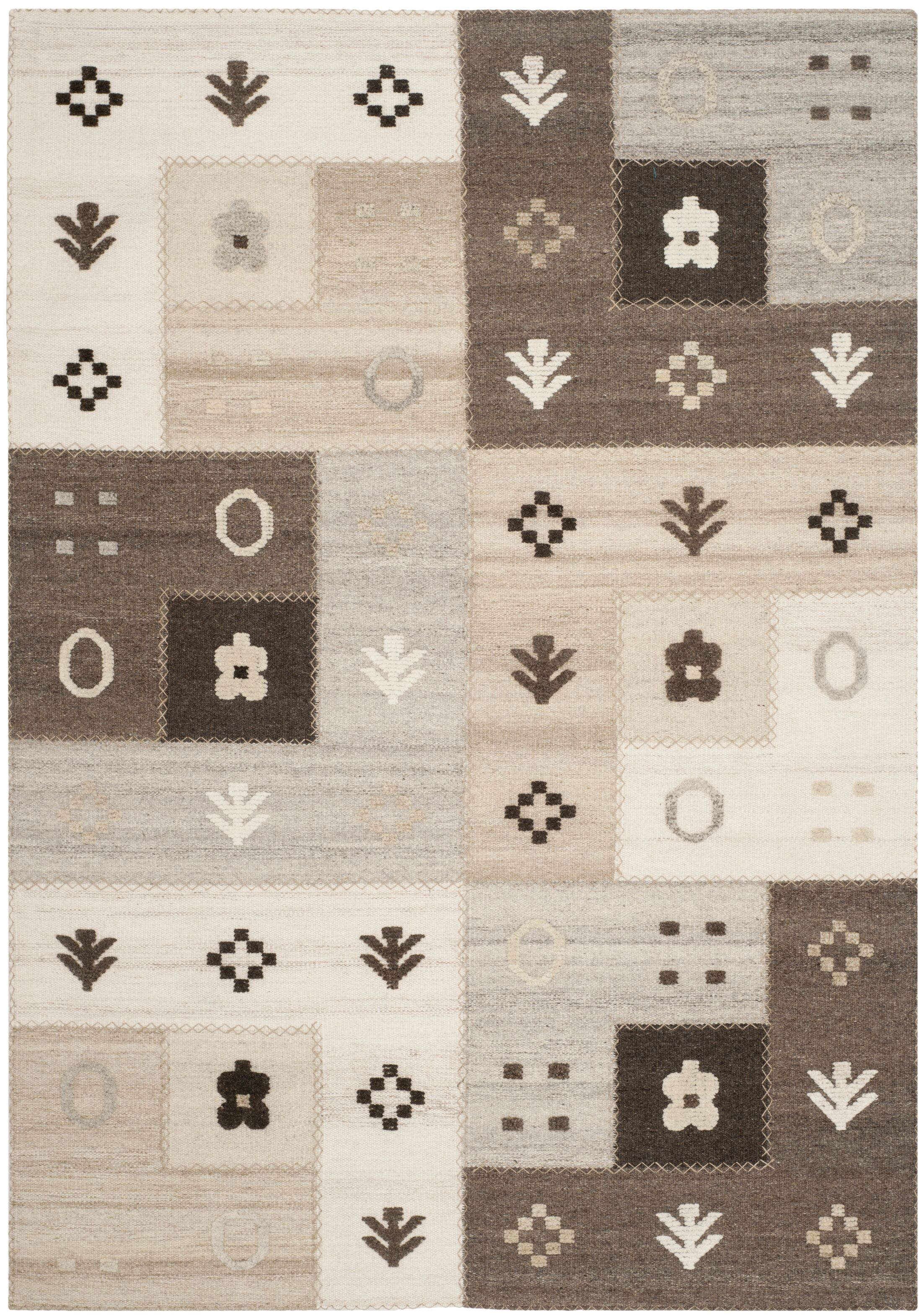 Maffei Natural Rug Rug Size: Rectangle 6' x 9'