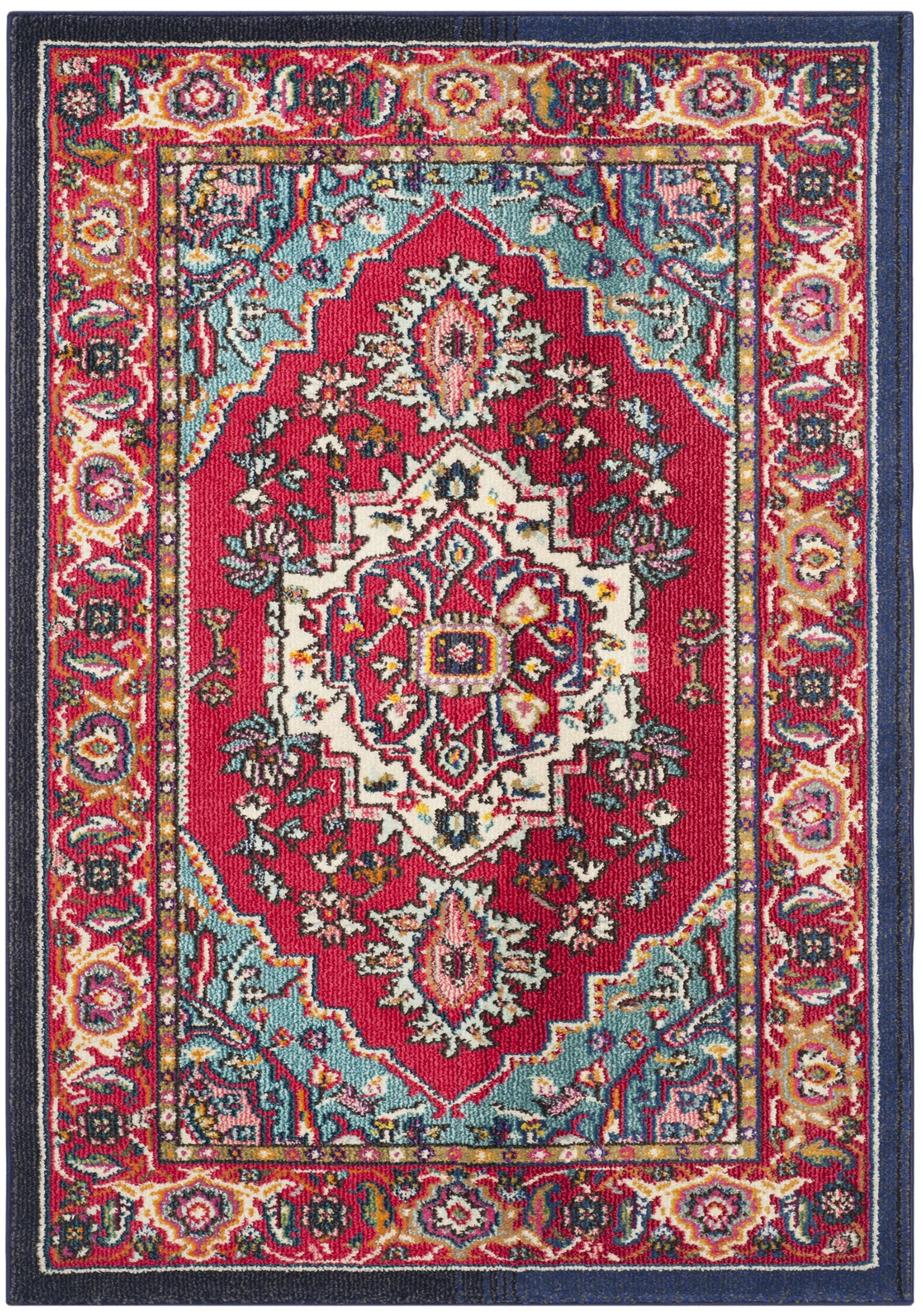Arianna Red Area Rug Rug Size: Rectangle 8' x 10'