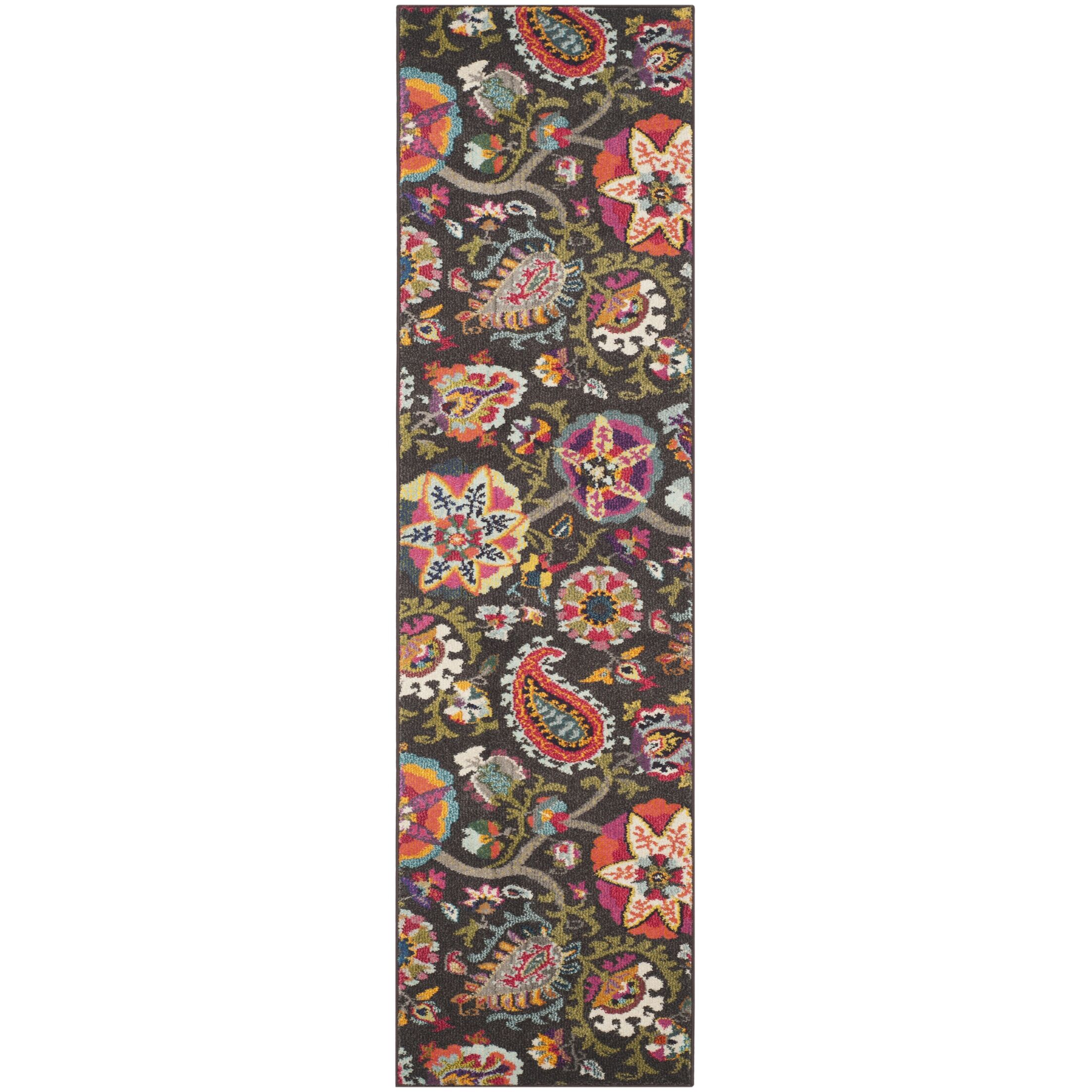 Chana Brown Area Rug Rug Size: Rectangle 5'1