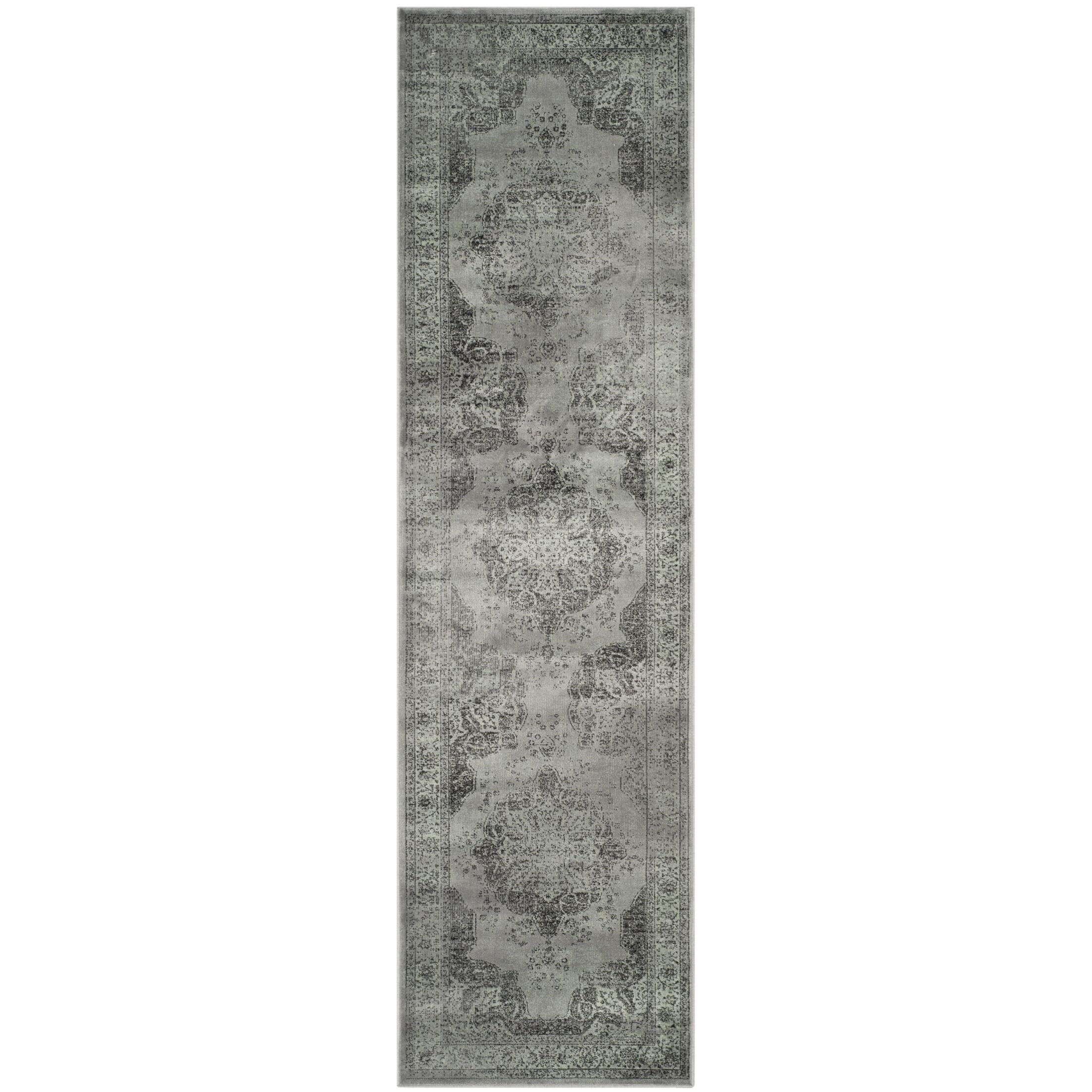 Makenna Gray/Green Area Rug Rug Size: Runner 2'2