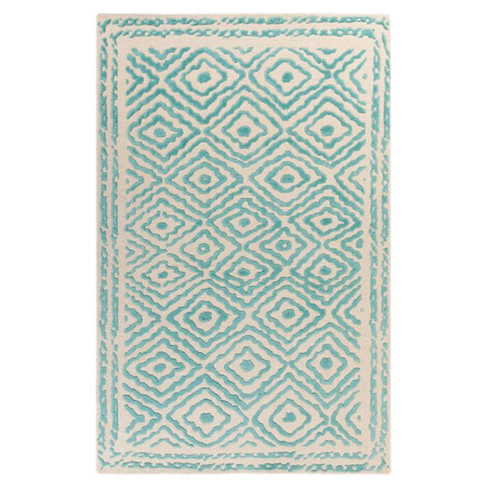 Sala Malachite Area Rug Rug Size: Rectangle 2' x 3'