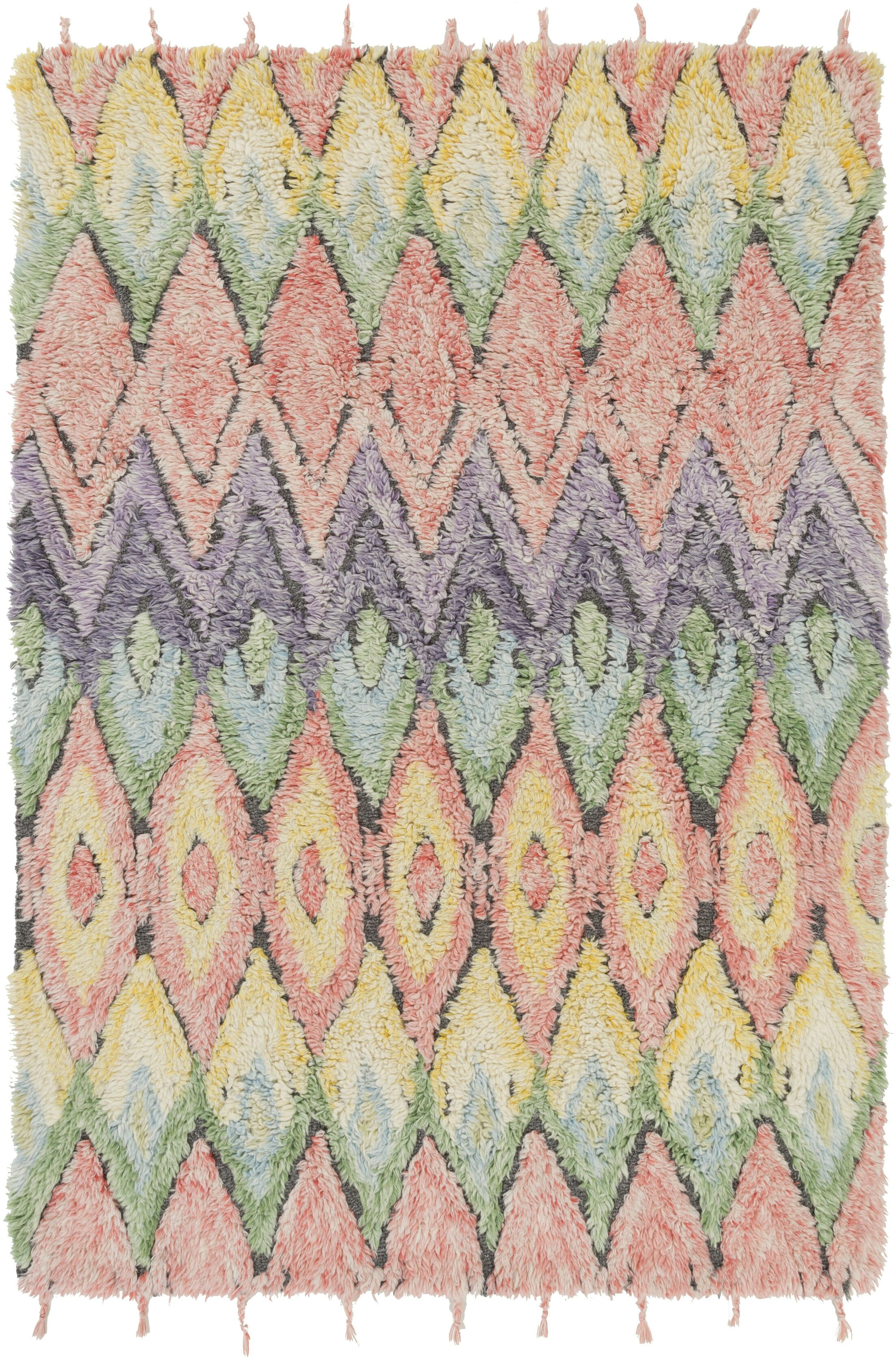 Zeenat Area Rug Rug Size: Rectangle 4' x 6'