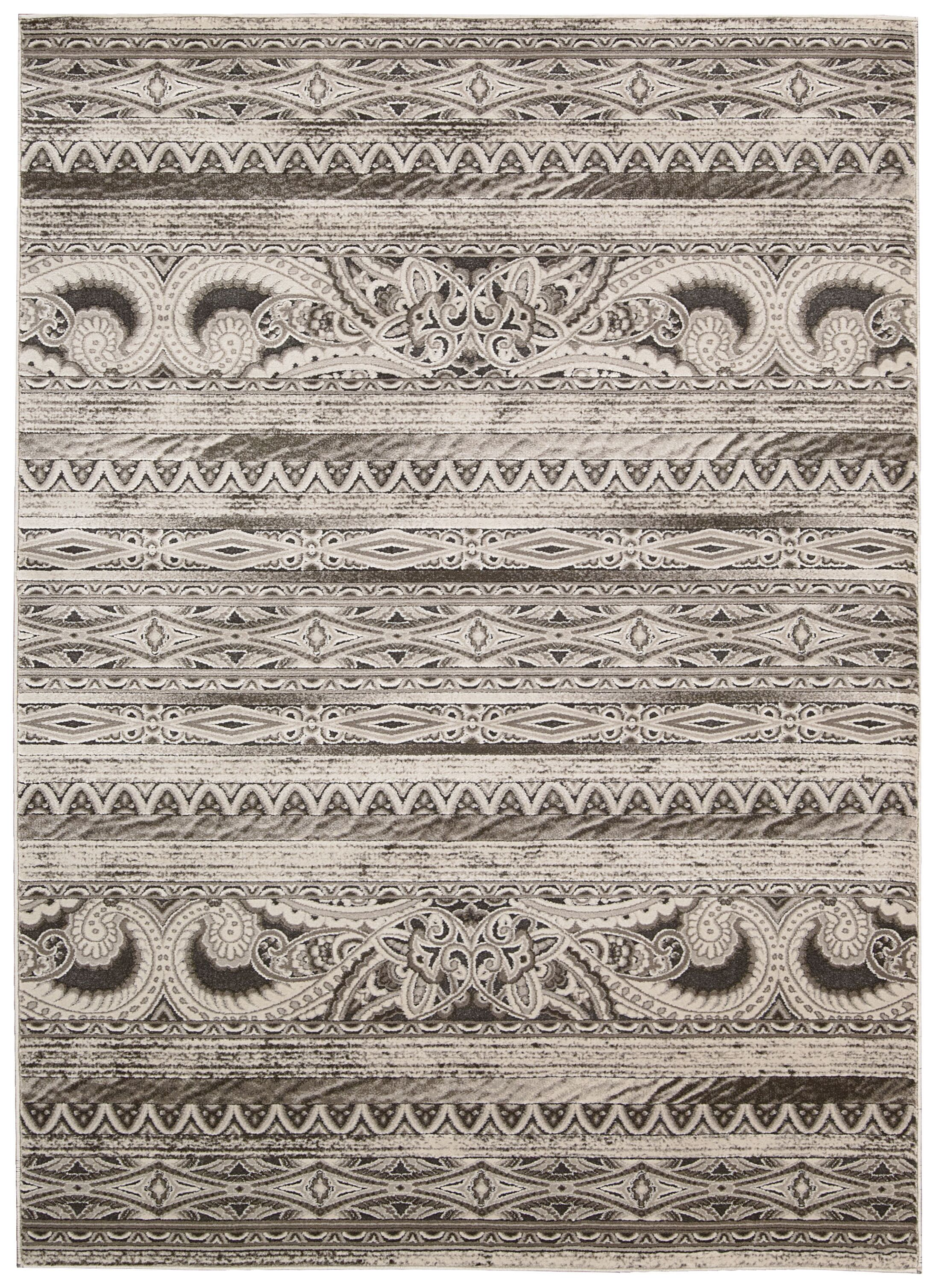 Saliba Beige Area Rug Rug Size: Rectangle 3'9