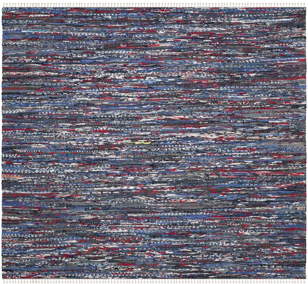 Saleh Hand-Woven Area Rug Rug Size: Square 6'