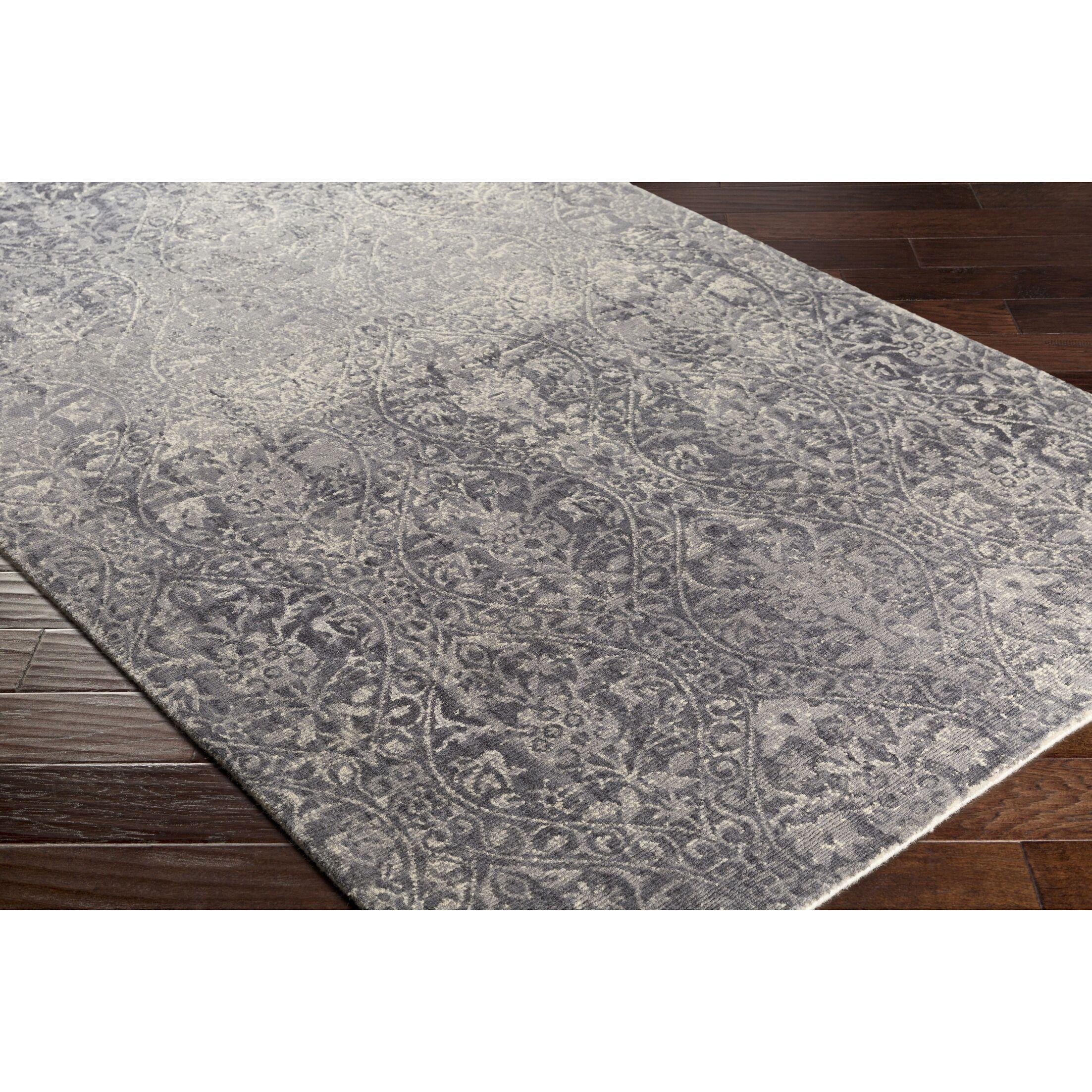 Anselma Hand-Loomed Neutral/Gray Area Rug Rug Size: Rectangle 8' x 10'